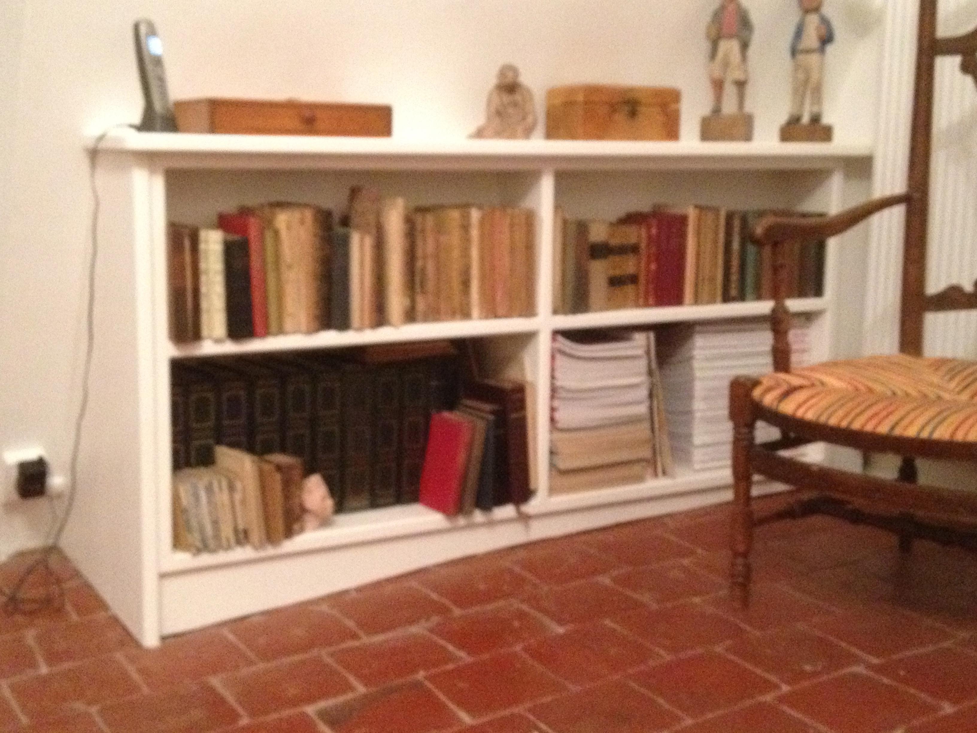 Dominique jardin meubles - Meuble bibliotheque basse ...